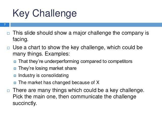 MBA case study presentation template