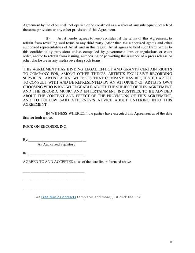 Contract Agreement Letter Letter Of Agreement 14 Download Free