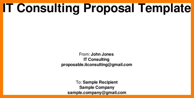 6+ it proposal templates | park-attendant