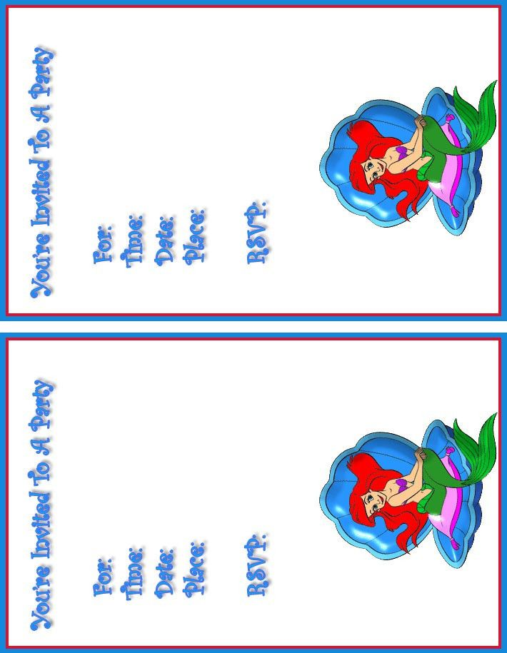 Printable Birthday Party Invitation Card Grand | neabux.com