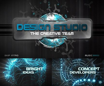 Video intro templates best website maker and blog create your own video intro templates design studio flash intro template 18913 pronofoot35fo Choice Image