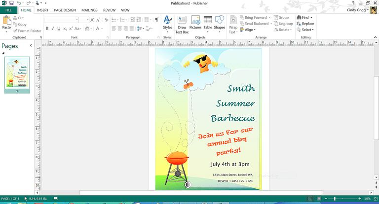 Free Summer Themed Templates from Microsoft