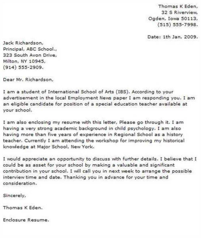 Art Editor Cover Letter