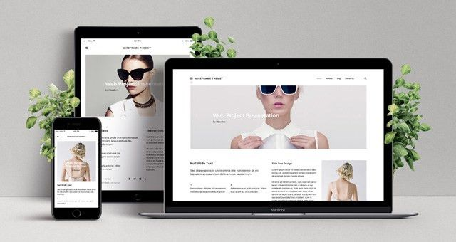 Free Web Design Templates | Pixeden
