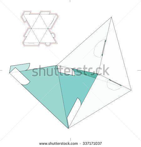 Die Cut Envelope Template Vector C6 Stock Vector 337449935 ...