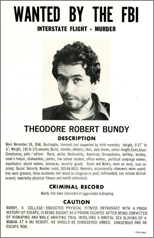 Serial Killers, Part 3: Ted Bundy's Campaign of Terror — FBI