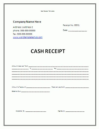 Fancy Money Receipt Template Skylogic Receipt Cash Advance Money ...