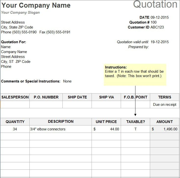 10+ Sample Estimate Templates - Free Word, PDF, Excel | Creative ...