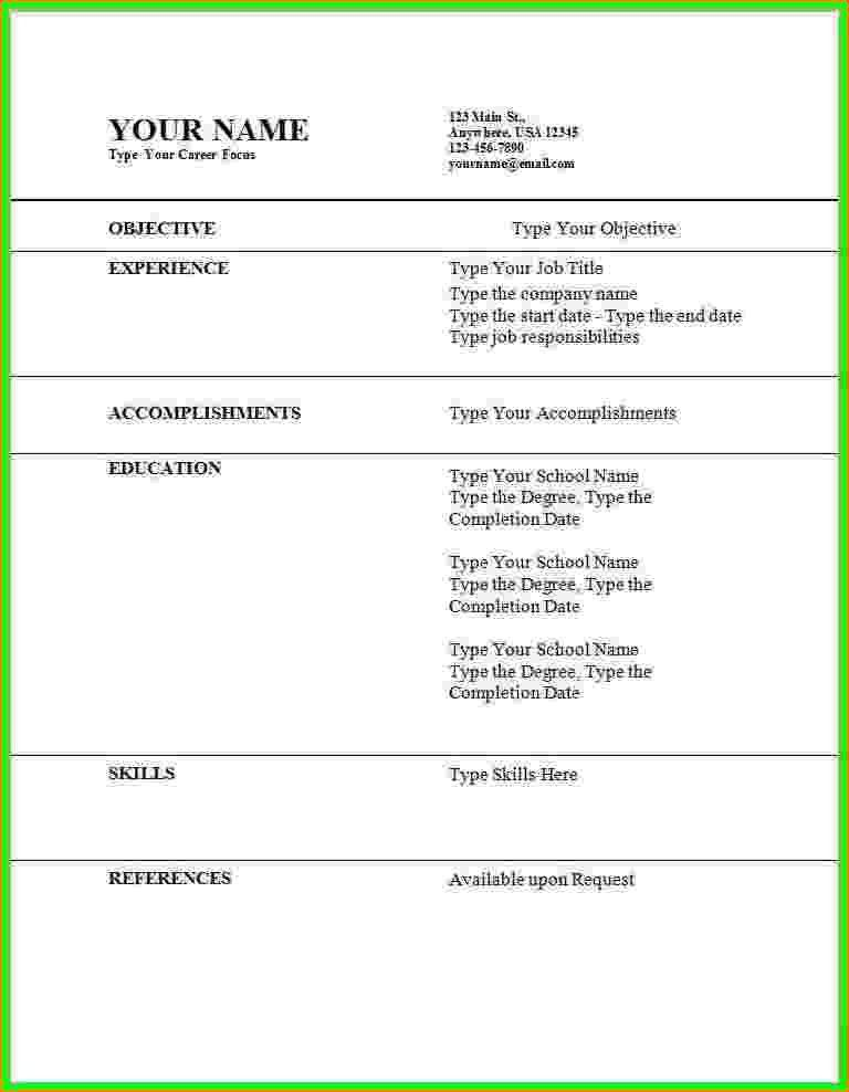 7+ how to make a resume for a job application | bibliography format