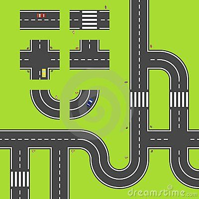 Cartoon Road Map Images - Reverse Search