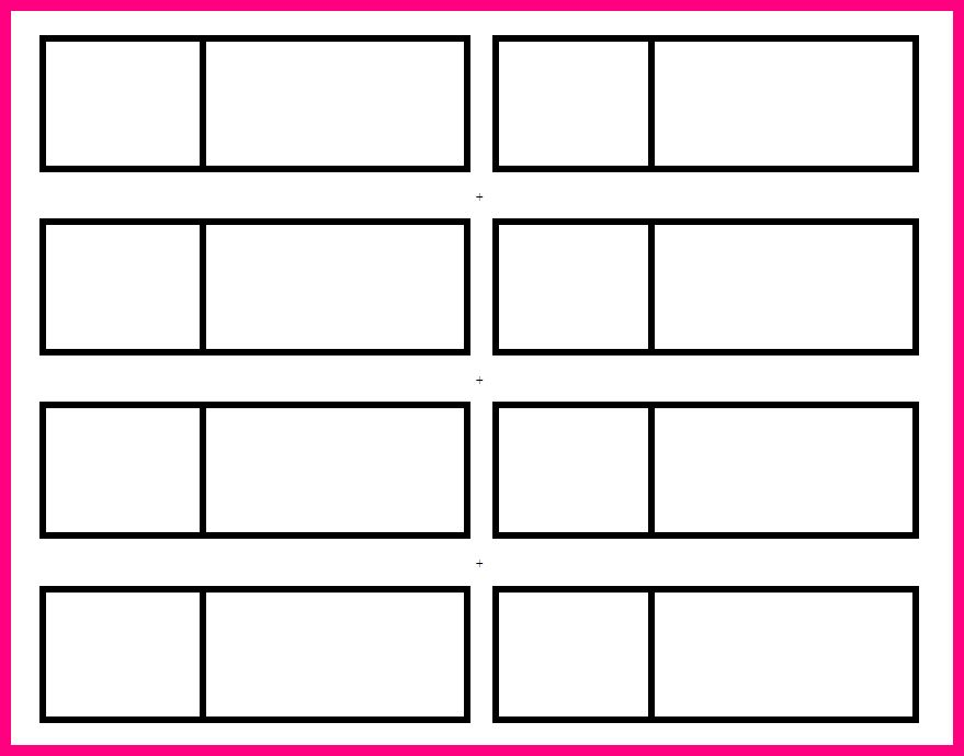 10 blank raffle ticket template