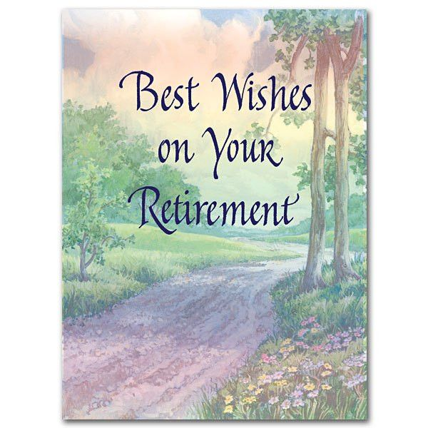 Best Wishes on Your Retirement: Retirement Card