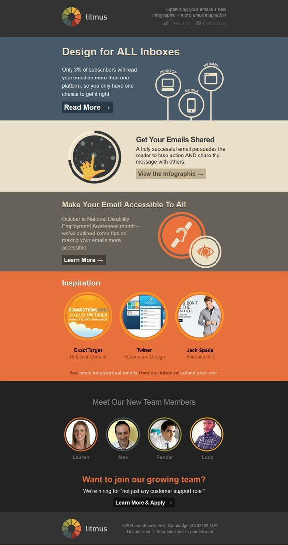 47 best Newsletter & Email template images on Pinterest | Email ...