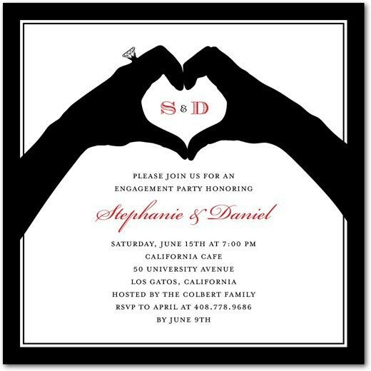 Cheap Engagement Party Invitations | christmanista.com