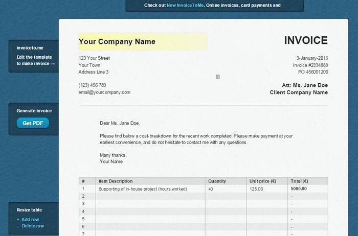 9 Best Online Invoice Creator to Generate Free Invoice Online