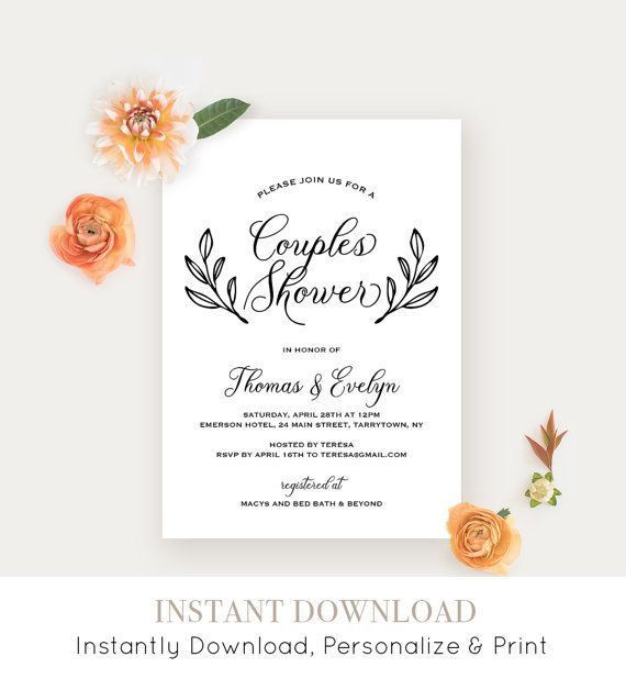 Best 25+ Couples wedding shower invitations ideas only on ...