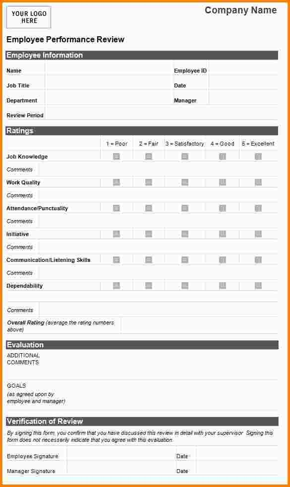 7+ employee performance evaluation template | nypd resume