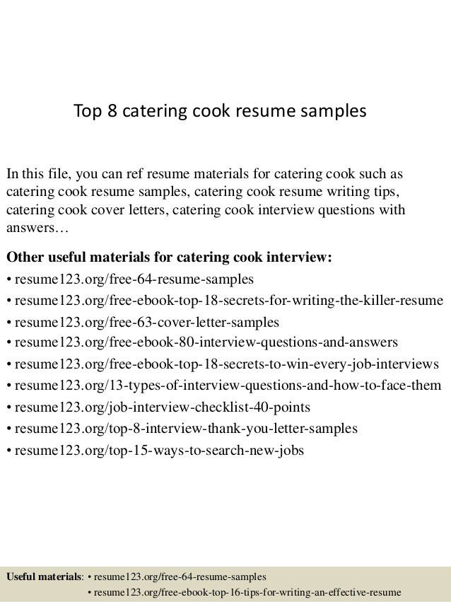 archaicfair free line cook resume example doc 500708 for chef ...