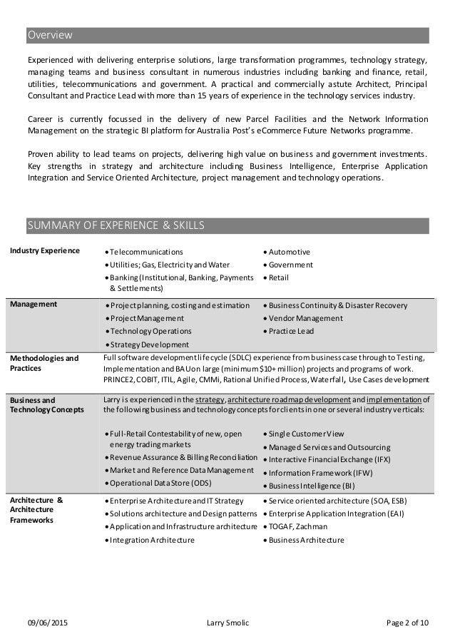 enterprise application integration resume enterprise application
