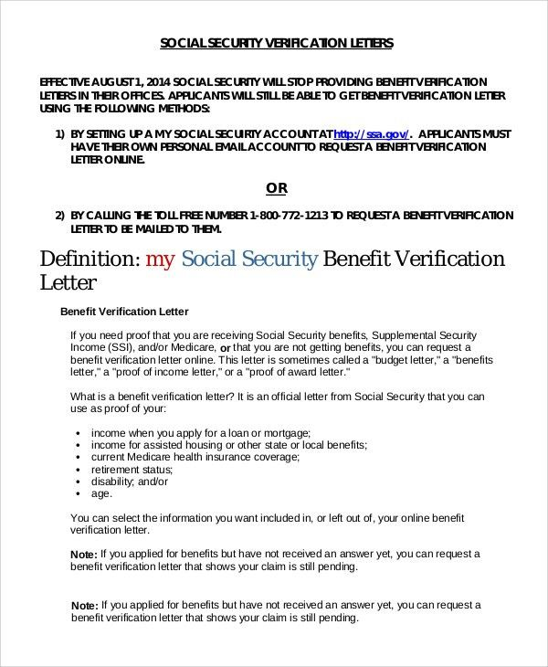Sample Income Verification Letter - 8+ Examples in PDF, Word