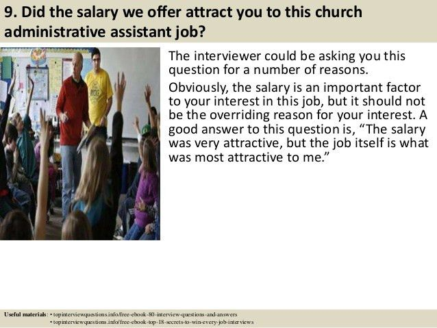 Top 10 church administrative assistant interview questions and answers