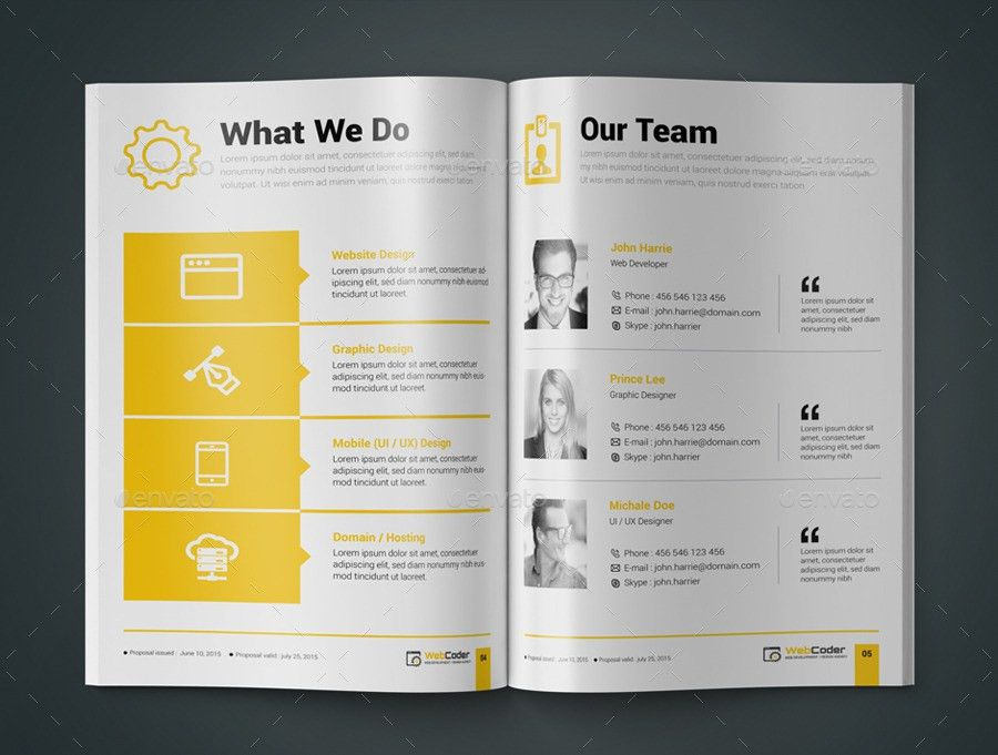 Web Proposal for Web Design & Development Agency by ContestDesign ...