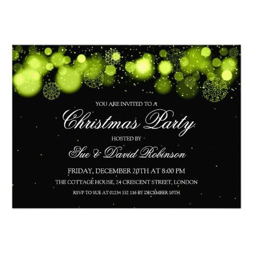 478 best Christmas Holiday Party Invitations images on Pinterest ...