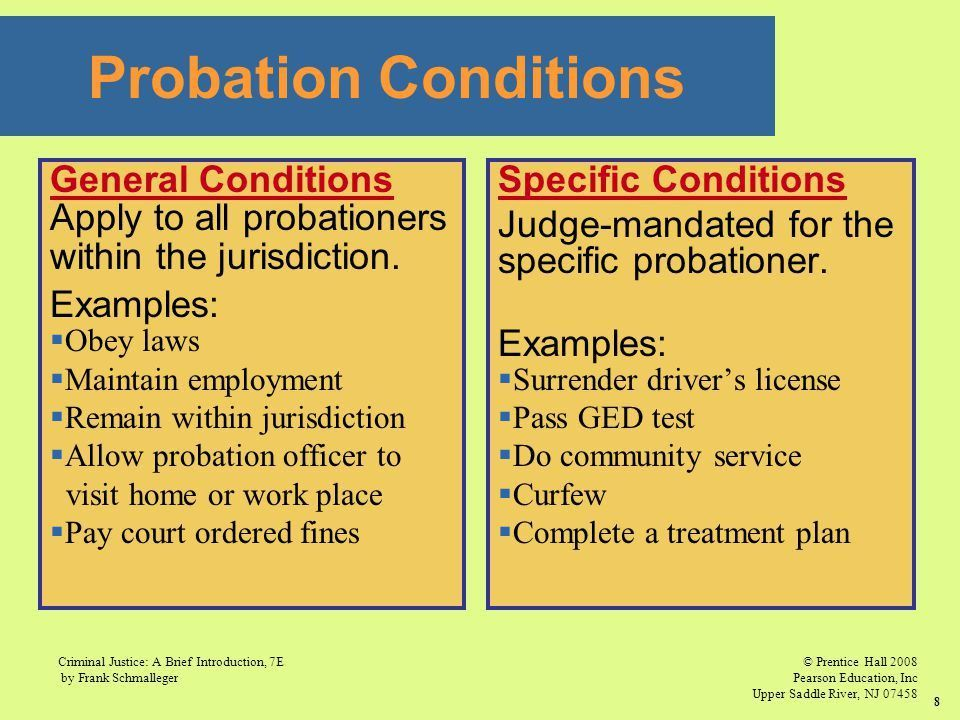 CHAPTER 10 Probation, Parole, and Community Corrections. - ppt ...