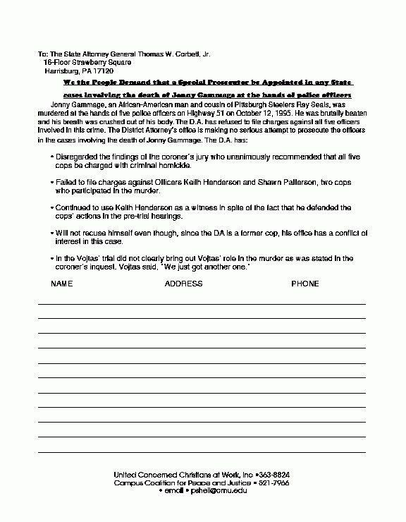 Petition Letter Sample | The Best Letter Sample