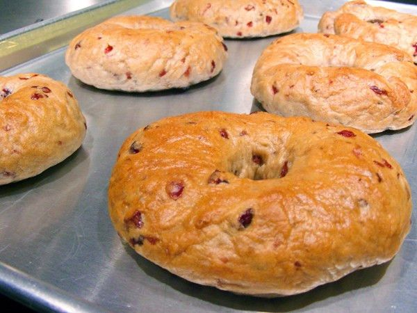 Top Secret Recipes | Panera Bread Cranberry Walnut Bagel