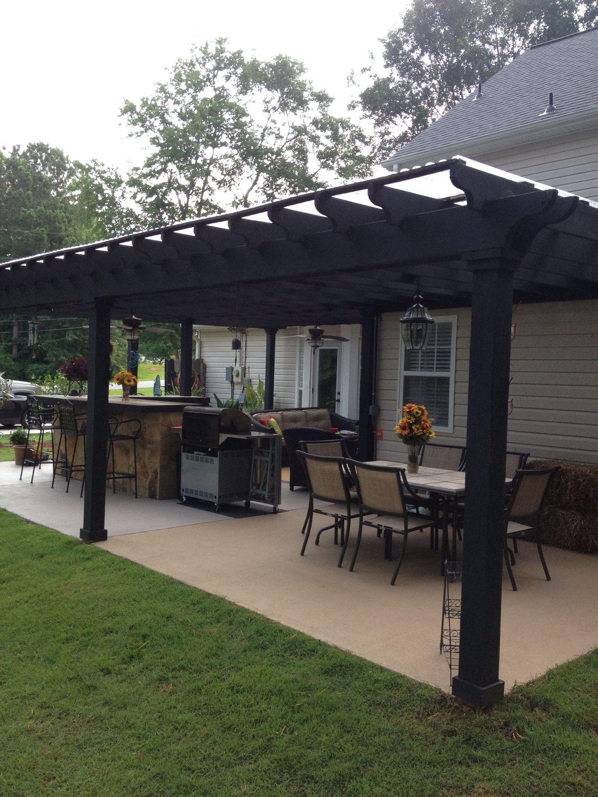 pergola black pergola gazebo patio soft simple patio simple backyard