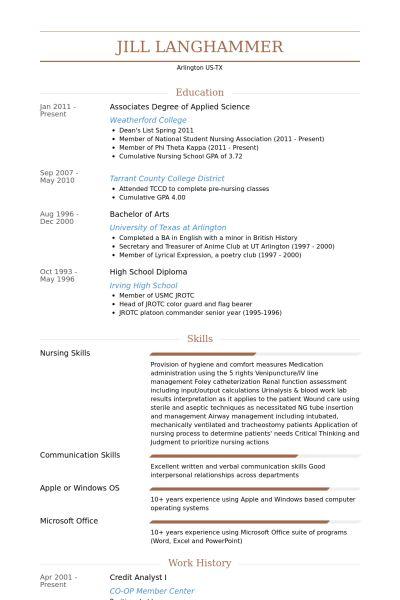 Credit Analyst Resume samples - VisualCV resume samples database