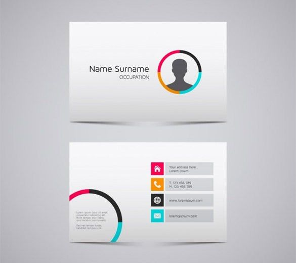Name Card Templates – 18+ Free Printable Word, PDF, PSD, EPS ...