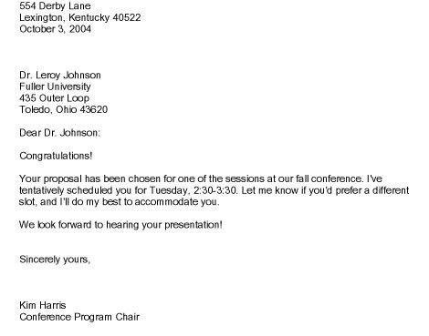 Sample Business Letter Example. Best 25+ Formal Business Letter ...