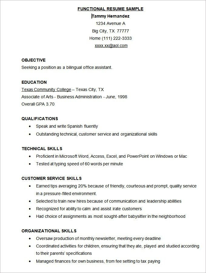 microsoft word resume template 99 free samples examples - Sample Resume Microsoft Word