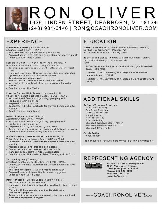 coaching resume template sample athletic soccer resume coaching ...