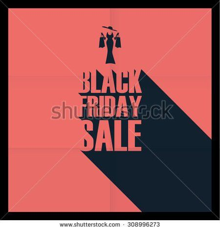 Black Friday Sales Poster Template Special Stock Vector 308996273 ...