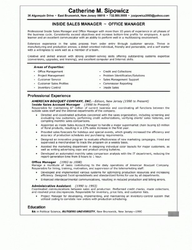 Resume Summary Statement Examples – Resume Examples