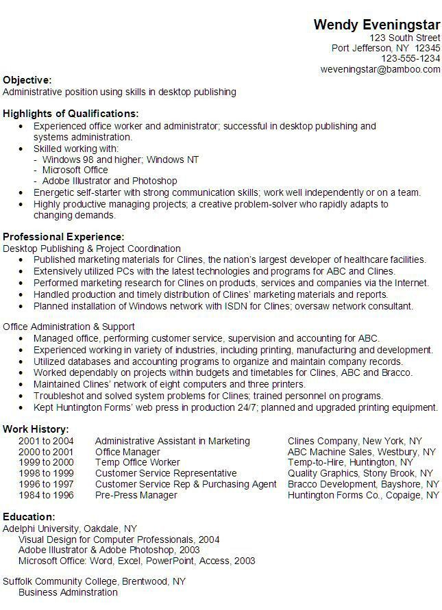 52 best Resumes images on Pinterest | Resume ideas, Resume tips ...