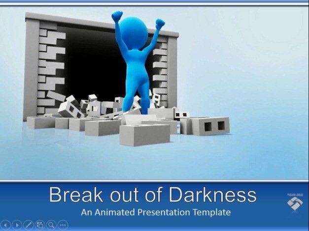 Animated Motivational PowerPoint Templates