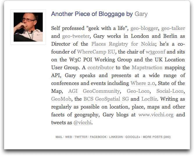 WP Biographia 2) Screenshots – Mostly Maps