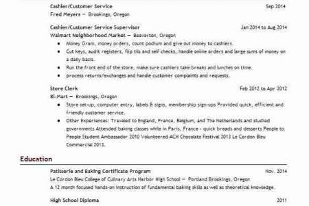 starbucks barista resumes Template, Starbucks Resume - Reentrycorps