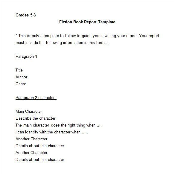 Book Template - 14+ Free Word, Excel, PPT, PDF, PSD Documents ...
