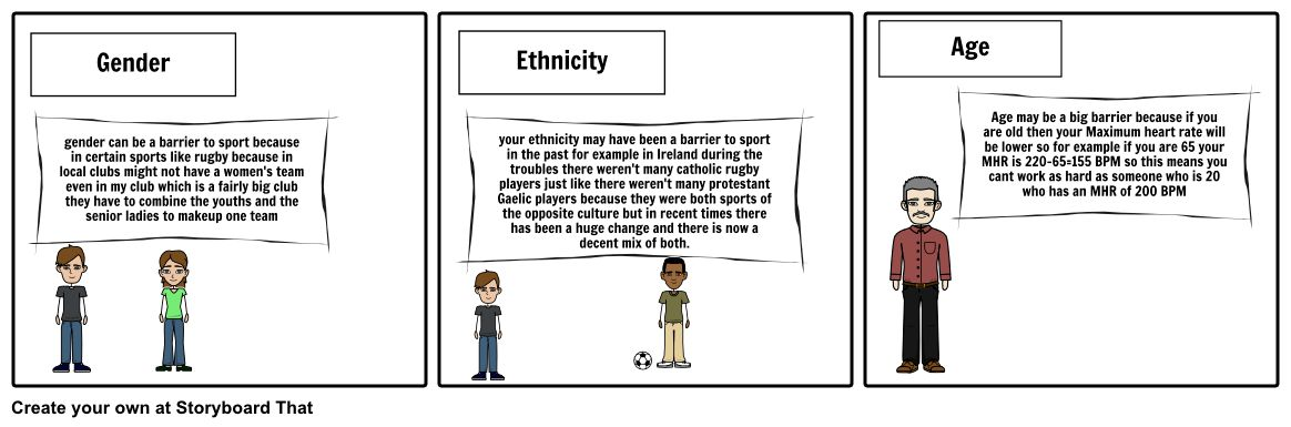 ethnic barriers Storyboard by rorymorris123