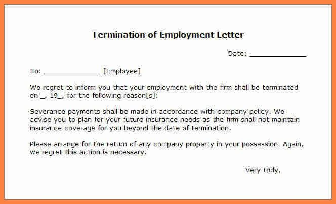Job Termination Letters. Termination Letters Qrtd6Mhb Sample Of ...