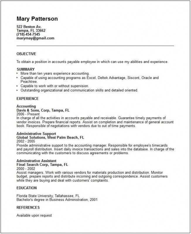 Resume Skill Section – Resume Examples
