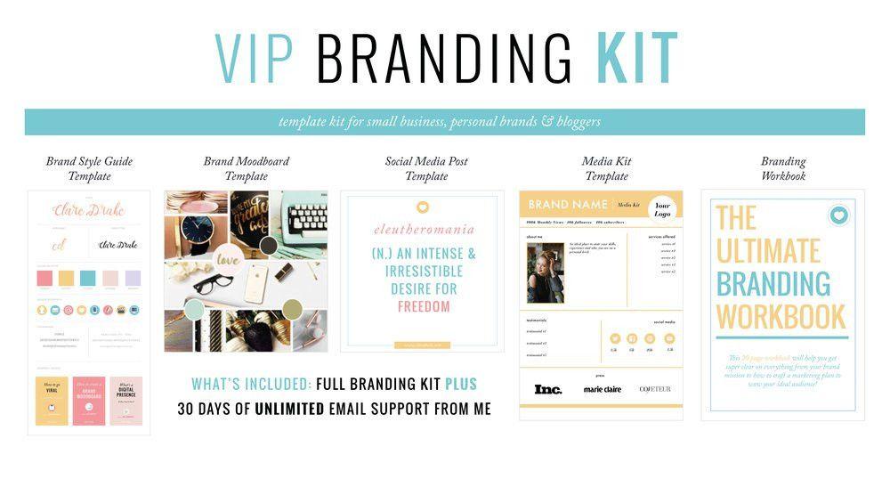 Get the Branding Template Kit — Clare Drake