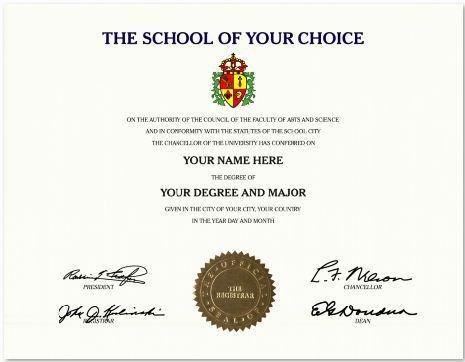 33 best Fake international university certificates |US university ...