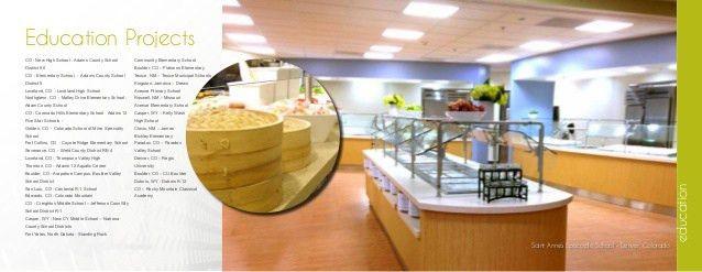Food Service Design Consultant Brochure