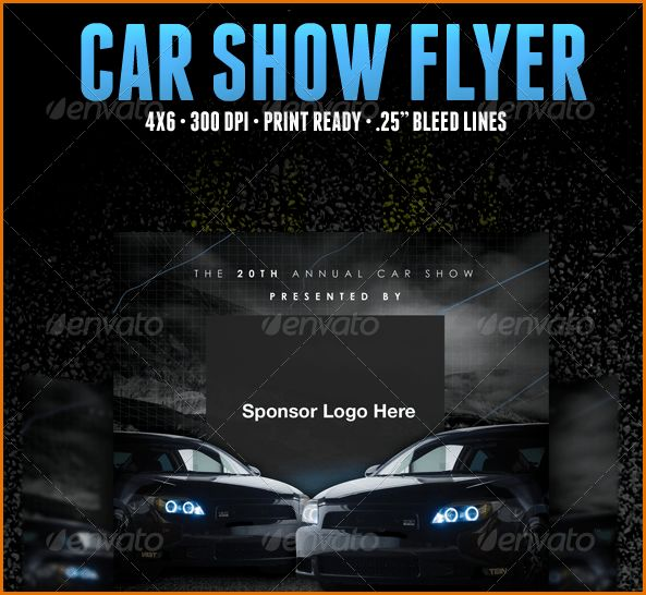 8+ car show flyer template | Job Resumes Word